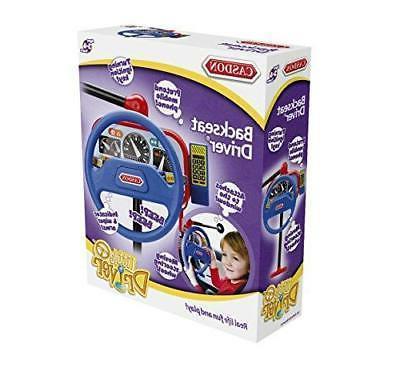 NEW Casdon Toy Driver Wheel