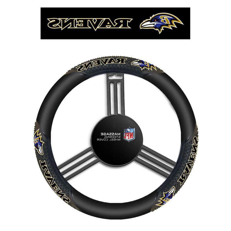 FANMATS NCAA Florida State University Seminoles Polyester Steering Wheel Cover