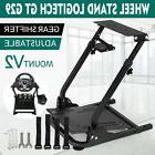 Racing Simulator Steering Wheel Stand Logitech G29 Gear shif