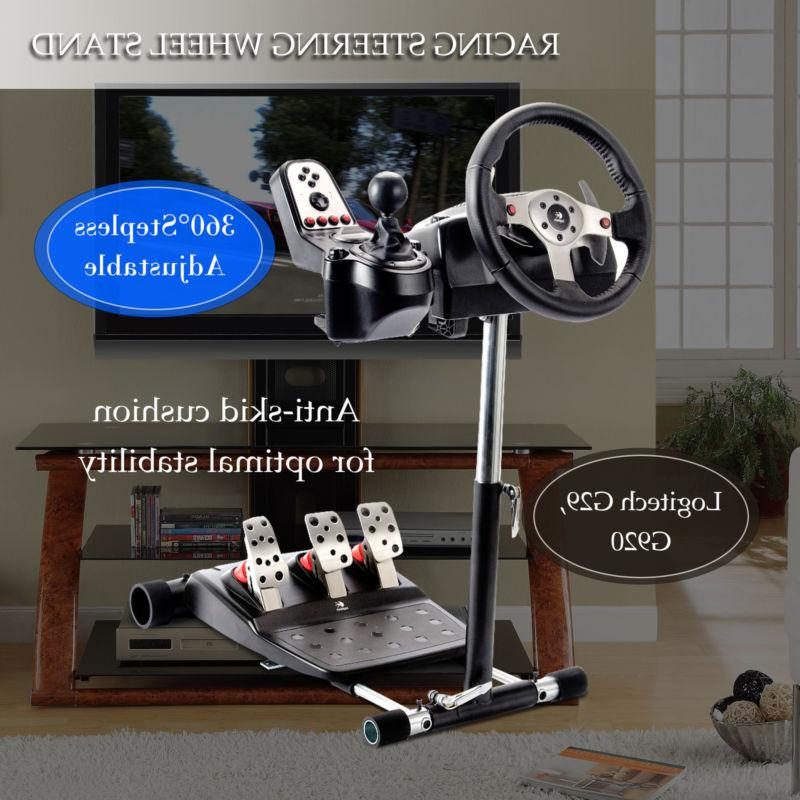 Racing Simulator Steering Wheel Stand for Logitech G25 G27 G