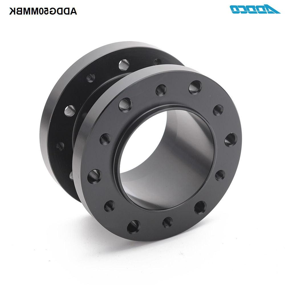 ADDCO Aluminum Height Car <font><b>Steering</b></font> Hub Extension ADDG50MMBK