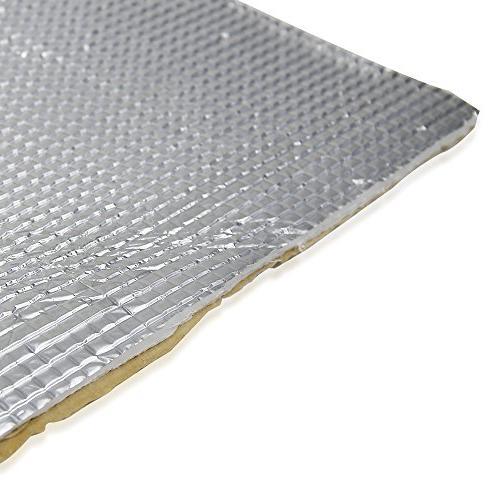 """Deadener Mat Noise Insulation Dampening Heat Proof Mat 72"""" x 40"""" 6mm/236mil"""