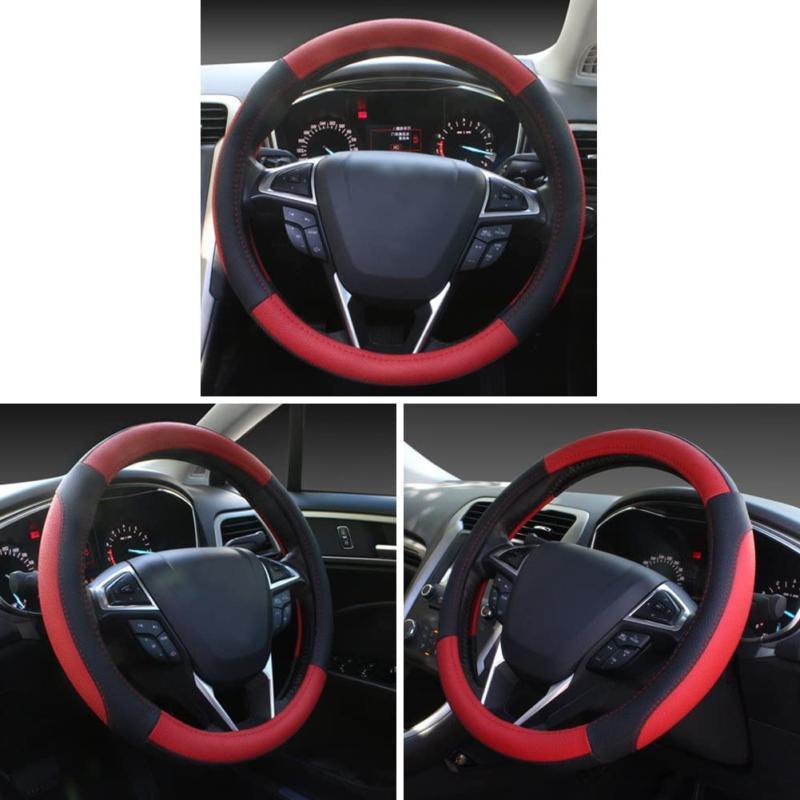 Seg Red Microfiber Leather Car Cover Univer