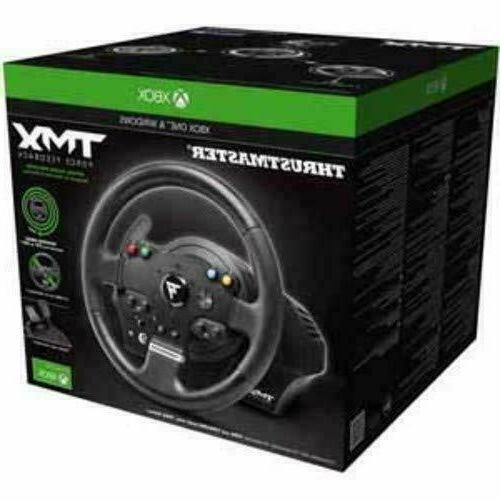 brand new thrustmaster tmx force feedback racing