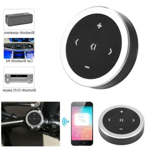 Car Bluetooth Wireless Media Button Steering Wheel Remote Co