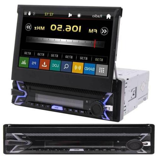 Car FM Radio GPS Stereo Bluetooth