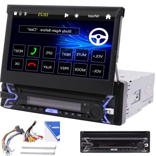 Car FM AM GPS 1 Stereo Bluetooth Player Wheel Control