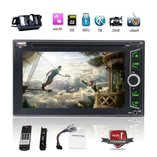 Car Radio Steering Video Camera BT Music