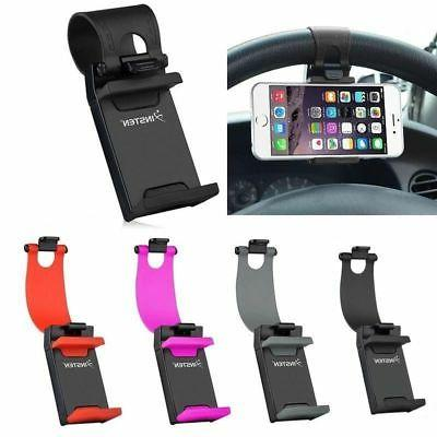 Car Steering Wheel Clip Cradle Stand Mount Holder For Samsun