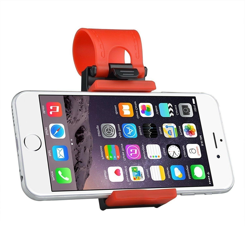Car Steering Wheel Clip Mount Holder For