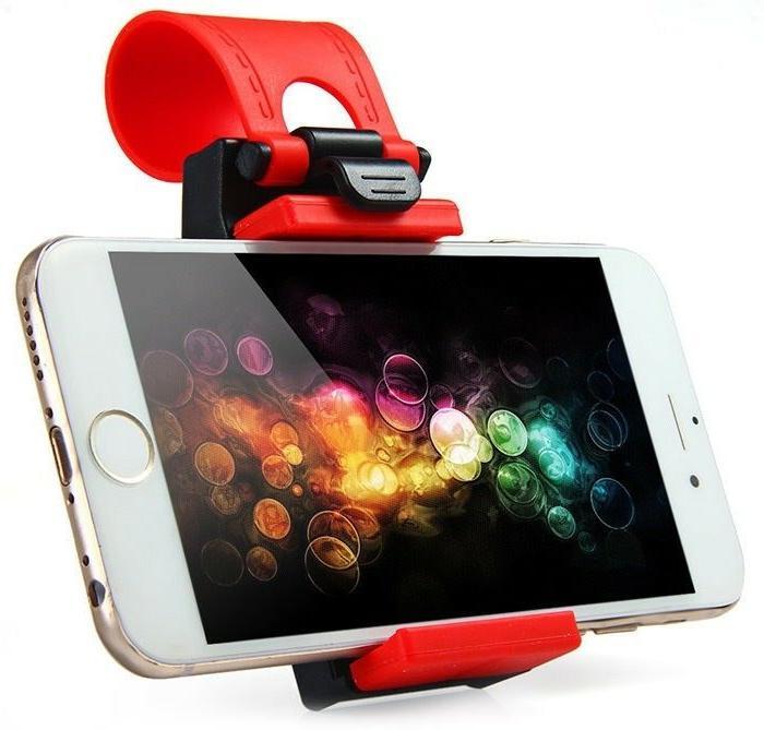 Car Steering Wheel Mount For iPhone 6/7/8/X,Samsung,GPS