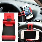 CAR STEERING WHEEL CLIP MOUNT PHONE HOLDER FOR IPHONE X 8 7