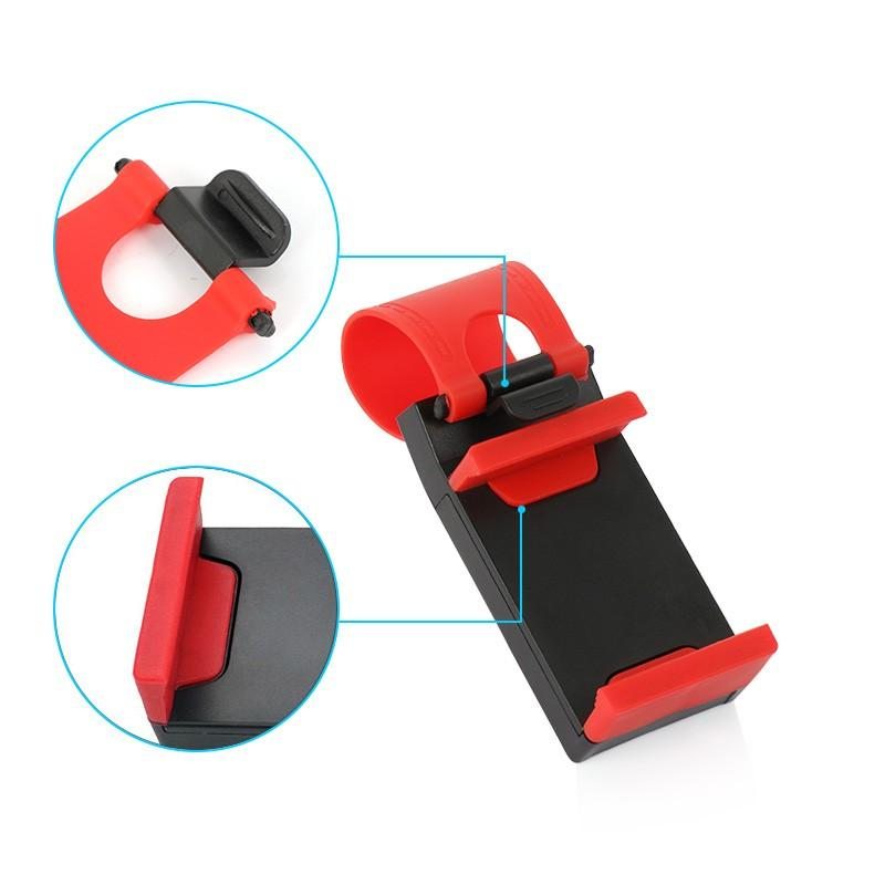 Car Steering Phone Holder Universal Clip Mount IPhone 8 7 6 New