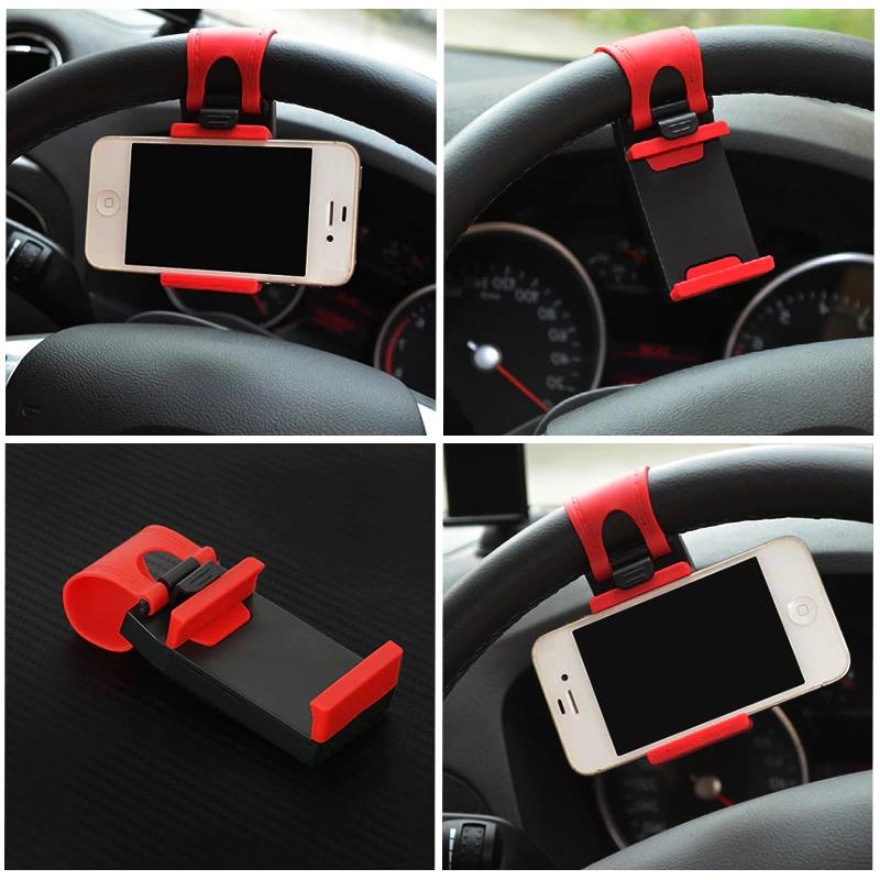 Car Wheel Phone Holder Universal IPhone 8 6 New
