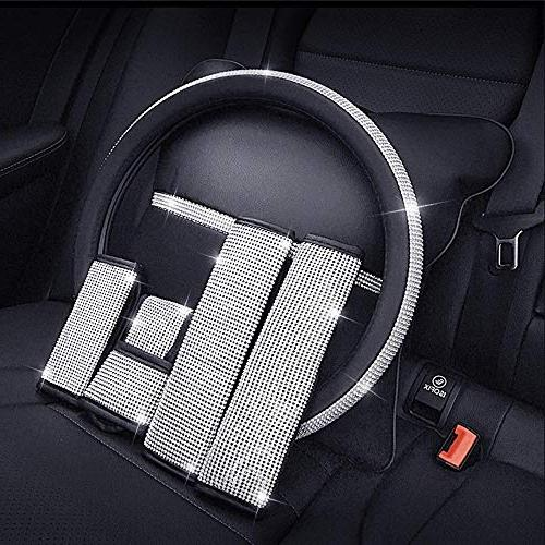 "ESKONKE Steering Ms. Bling Matrix Diamond and Elegant Design Soft and Universal 15"""