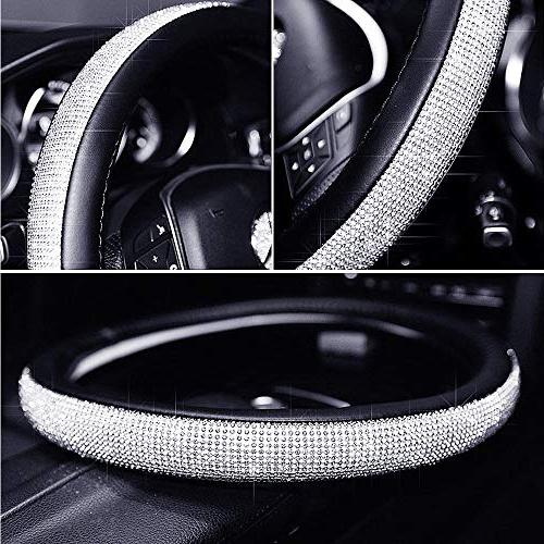 ESKONKE D Type Car Steering Wheel Cover Ms. with Matrix and Universal