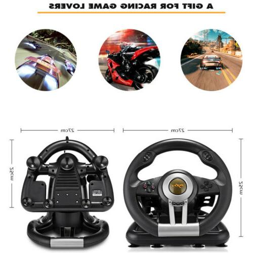For Xbox One Driving Racing Game Steering Wheel Braking Pedal D8B0E