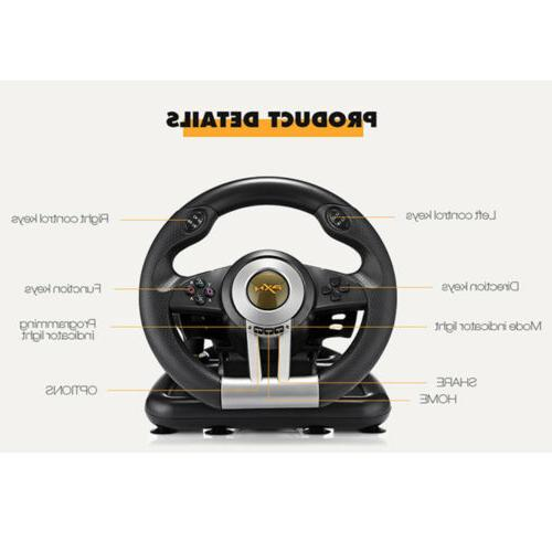 For PC Xbox Game Steering Wheel Pedal