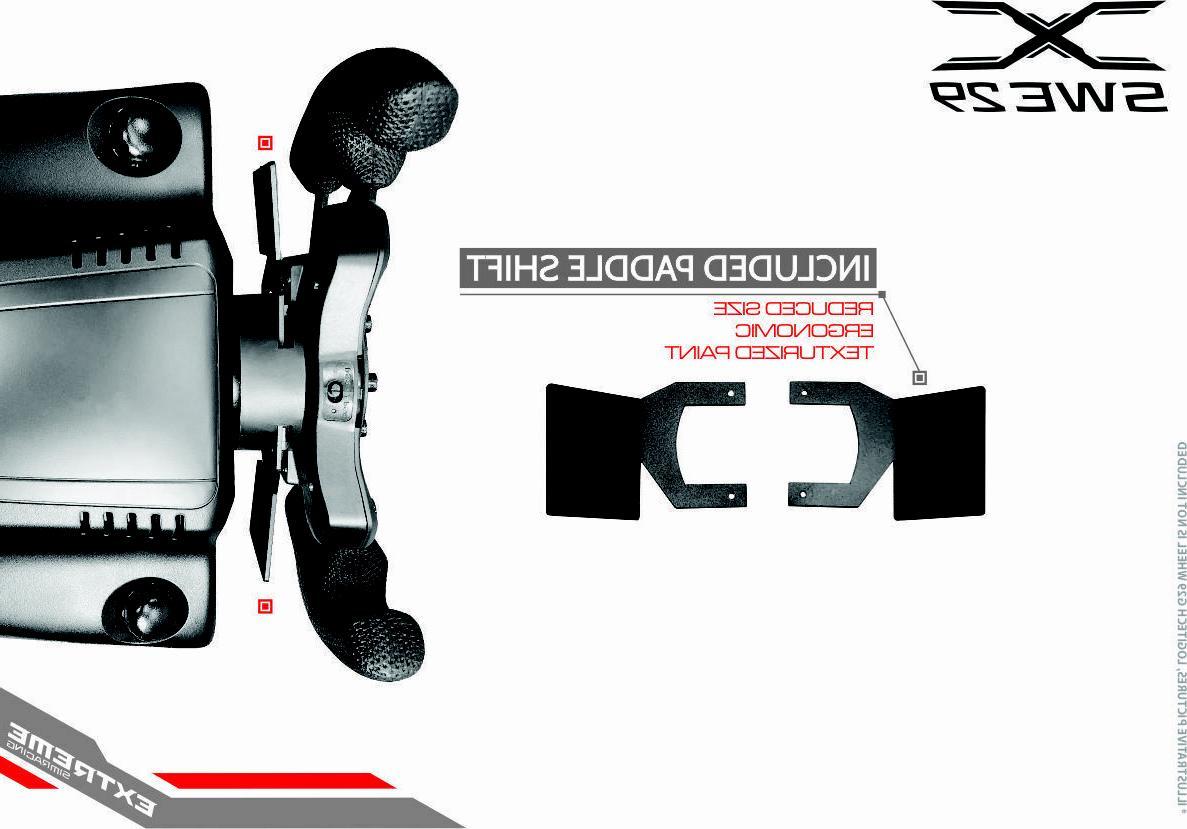 ESR SWE 29 GT Steering Wheel - Fits Logitech G29