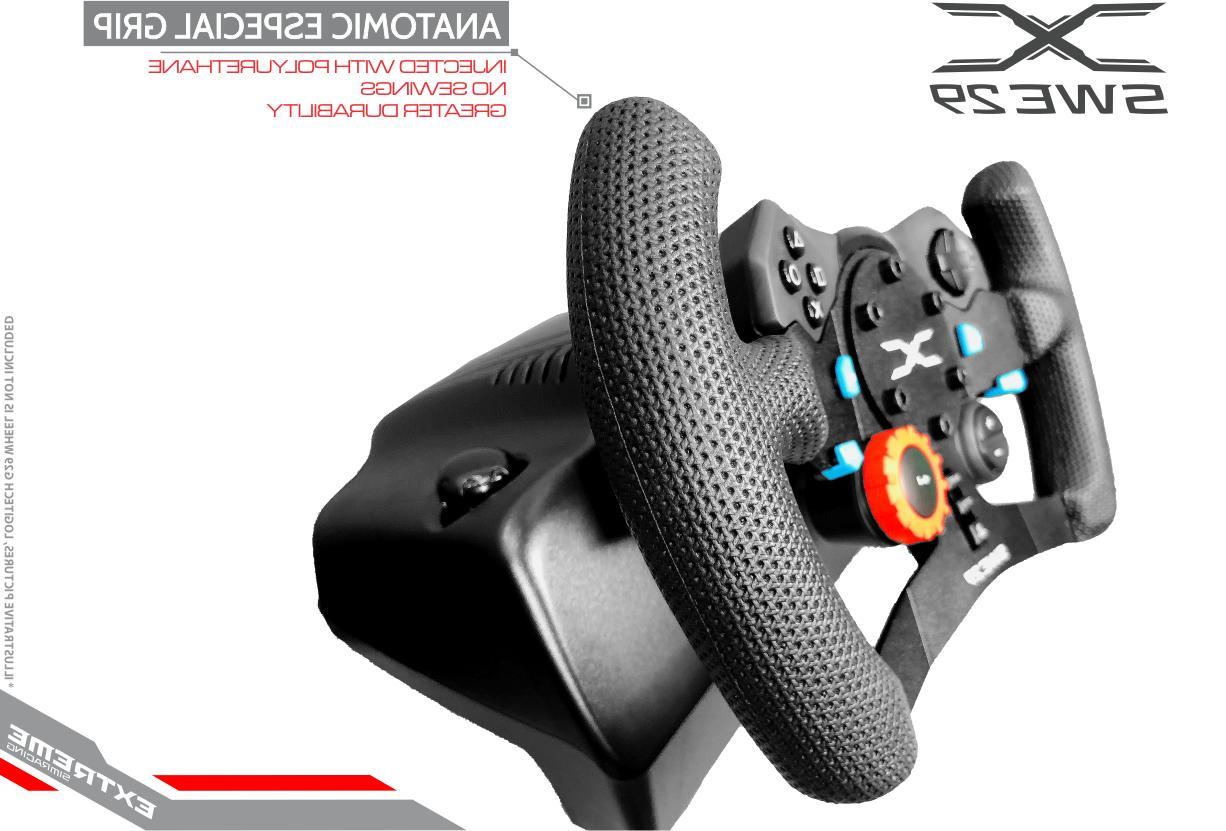 ESR 29 Add-On GT Steering Wheel Rim - Fits Logitech