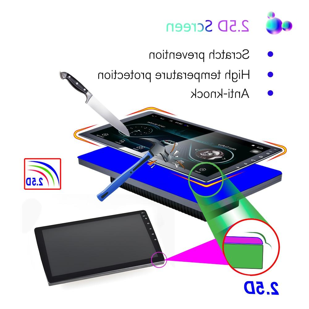 "Podofo Din Car Multimedia Player din 7"" HD auto Stereo WiFI Bluetooth USB"