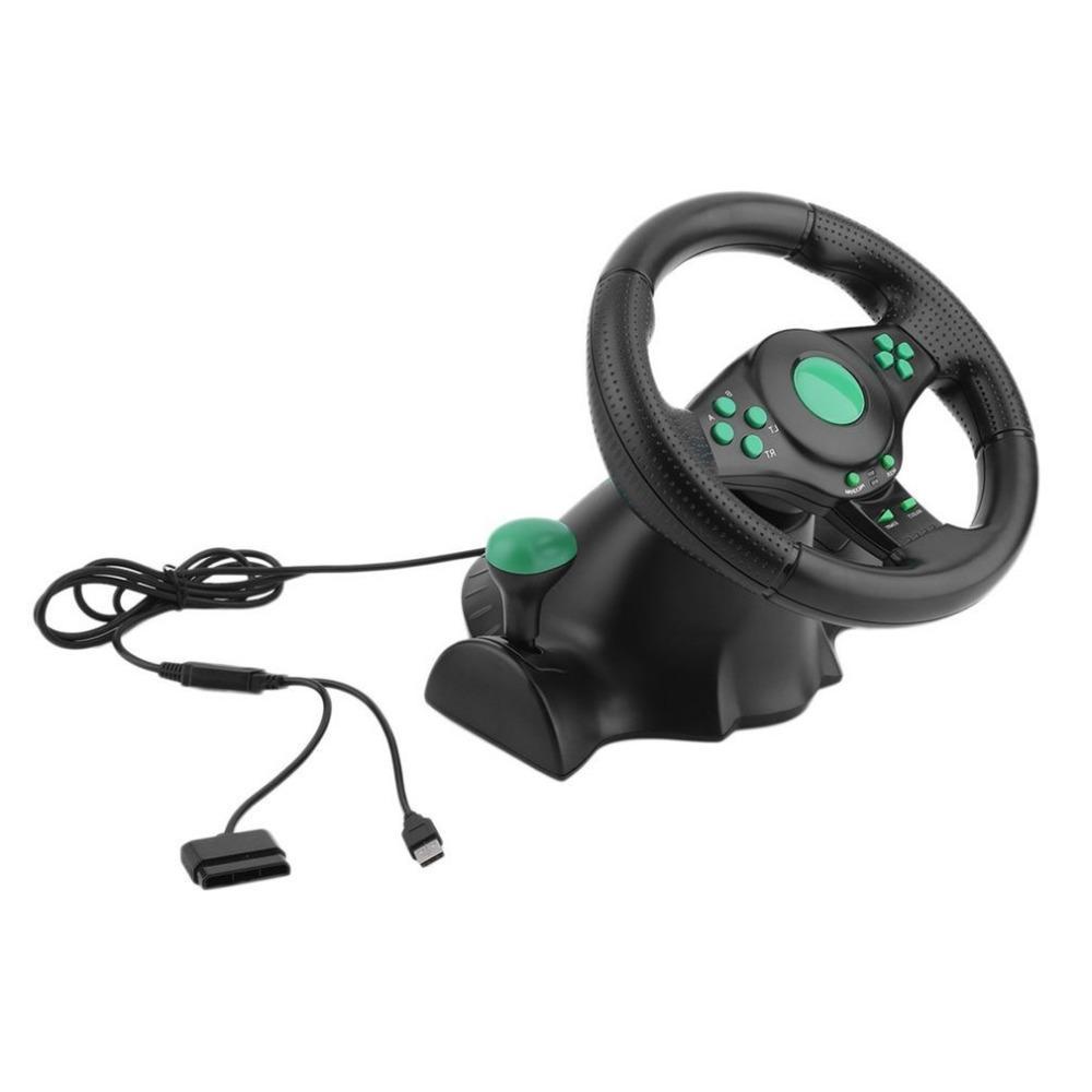<font><b>Racing</b></font> For 360 PS2 For Car <font><b>Steering</b></font>-<font><b>Wheel</b></font> 180 Degree