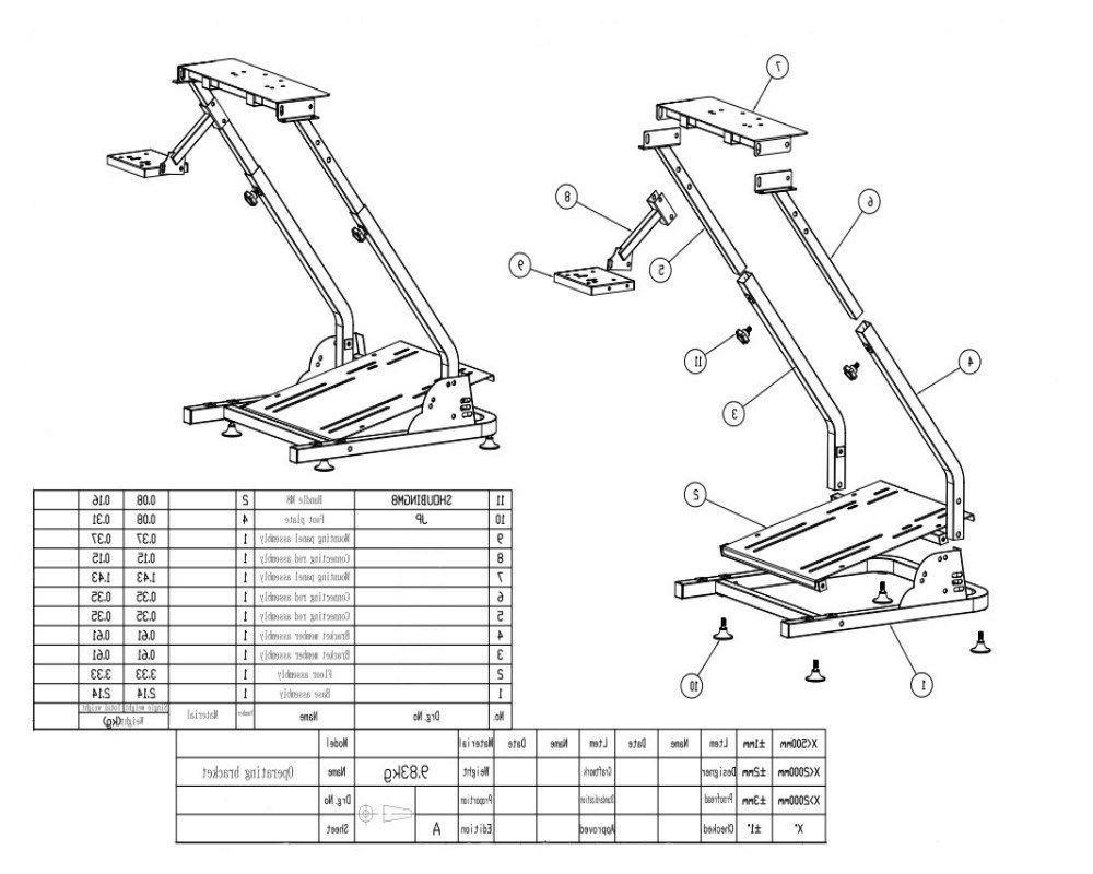 G29 Racing Simulator Wheel shifter PRO V2