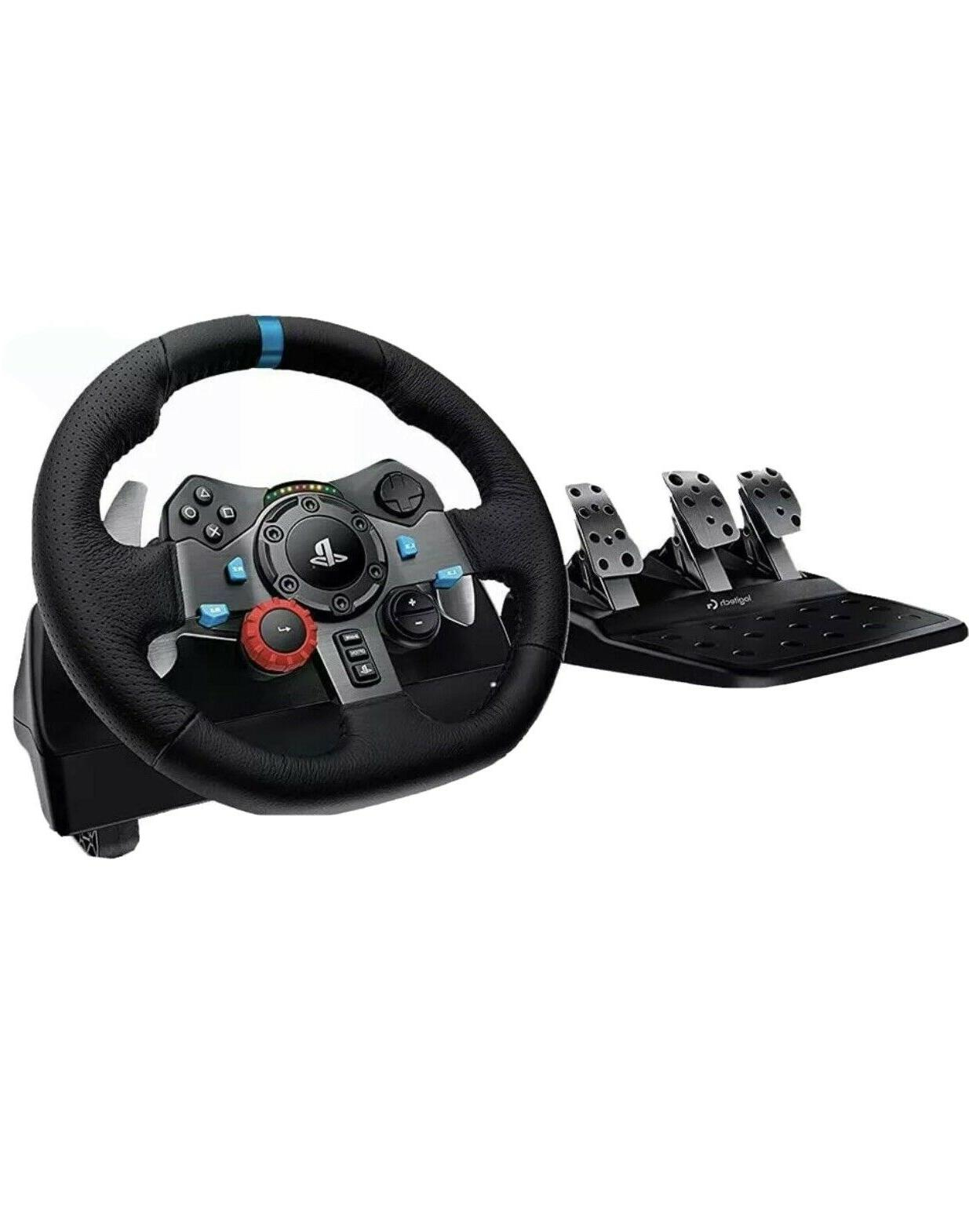 g29 steering wheel pedals simulation racing compatible
