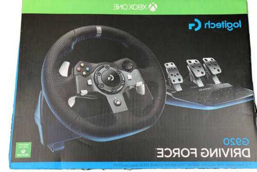 Logitech G920 Driving w Xbox
