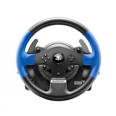 Gaming Steering Wheel Thrustmaster Includes Controllers