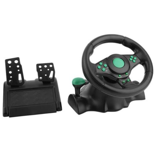 Gaming Racing Pedals Set ABS PC