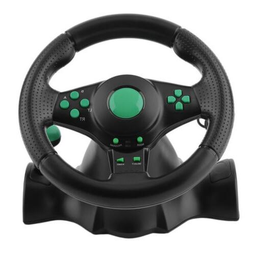 Gaming Wheel Pedals for xbox360 PS2 PS3 PC