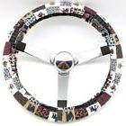 Mana Trading Handmade Steering Wheel Cover Country Cats Quil