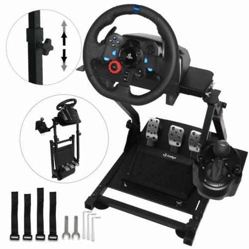 heavy duty racing simulator steering wheel stand