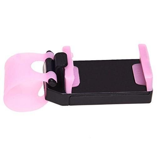 Holder TOOGOOUniversal Steering Wheel Bike Mount iPhone For Phones Pink