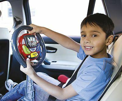 Kids Interactive Sound & Light Sat Nav Steering Wheel Toy Li