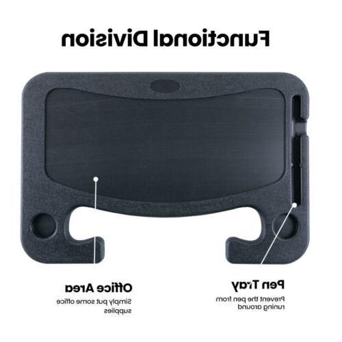 Laptop Wheel Auto Car Computer Mount Table