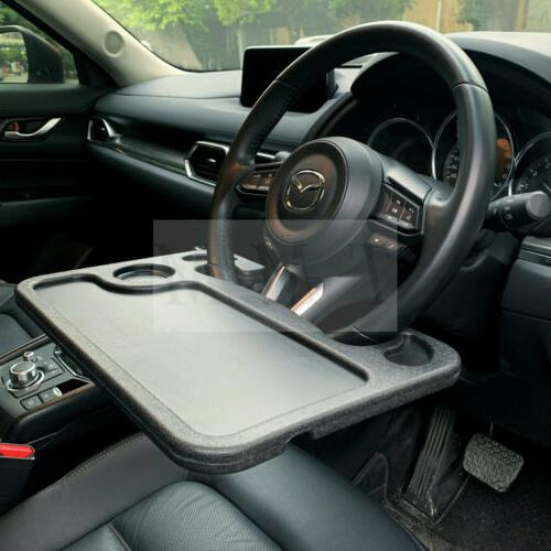 laptop steering wheel desk auto car computer