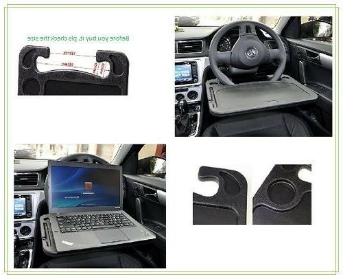 Laptop Steering Wheel Desk For Lap Notepad Car Mount Mobile