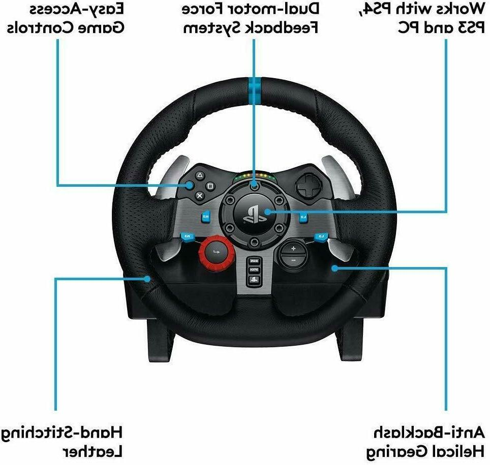 Logitech Driving Force Racing with Responsive