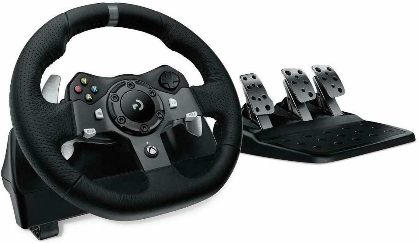 Logitech G920 Driving Racing with Responsive