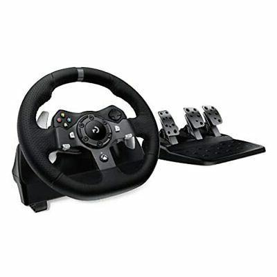 logitech g920 dual motor feedback driving force
