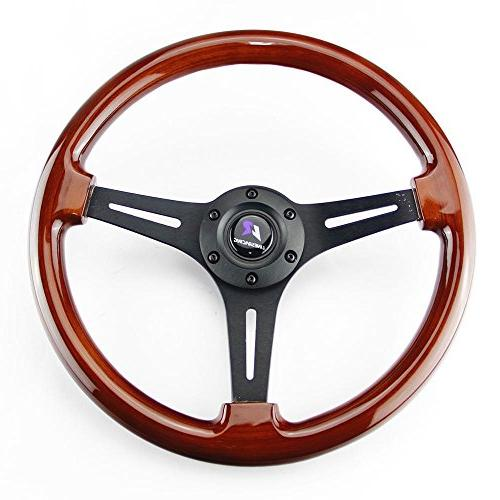 lr universal 14 steering wheel with horn