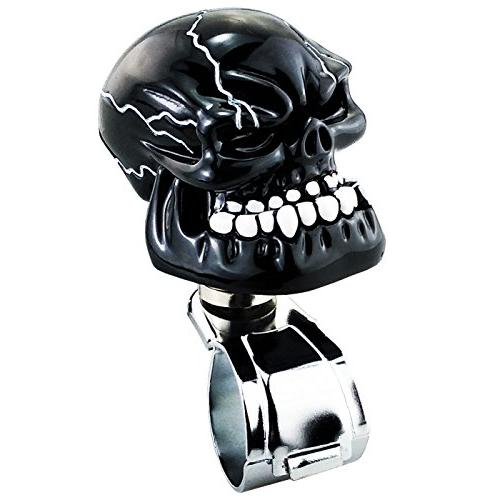 LUNSOM Cool Spinner Knob for Universal Black