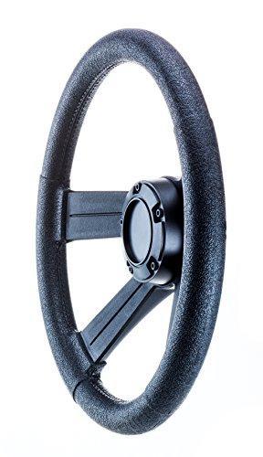 attwood 8315-4 Weatherproof 13-Inch Marine Boat Soft-Grip Steering Wheel