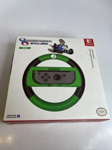 Mario Kart 8 Deluxe Joy-Con Luigi Wheel Nintendo Switch Acce
