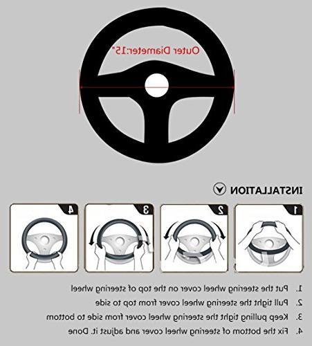 Valleycomfy Steering Wheel inch