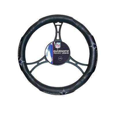 New NFL Synthetic leather Truck Steering Wheel Cover