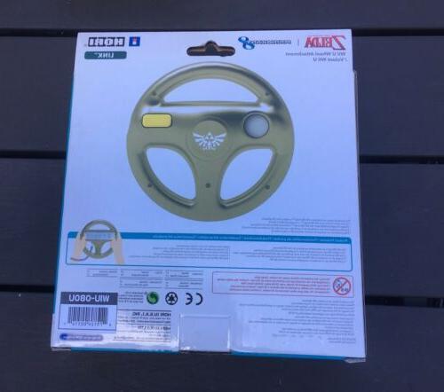 NEW Nintendo U Zelda Link Mario Kart 8 Steering Hori