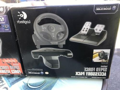 NEW!! Logitech Force Steering Wheel Nintendo